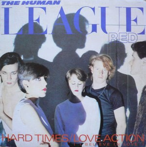 "the human league - love action UK 12"" single cover"