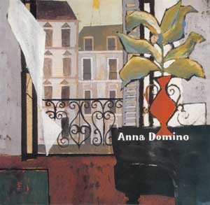 anna domino debut album cover art benoit hennebert