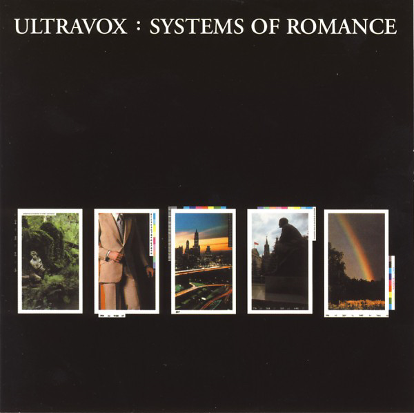 ultravox - systems of romance cover art