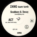 act - snobbery + decay promo remix label