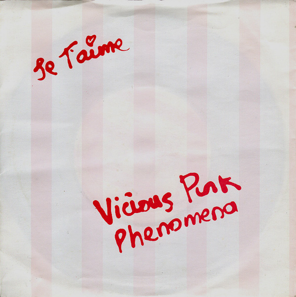vicious pink phenomena je t'aime cover art