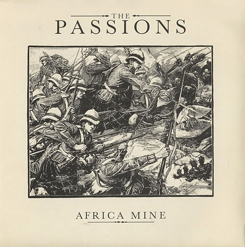 "The PAssions - Africa Mine UK double 7"" cover"