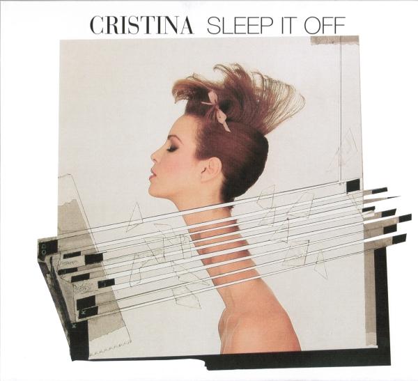 cristina - sleep it off CD cover art