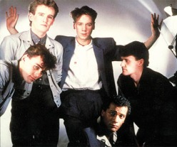 Simple Minds Ca. 1983 - fighting trim