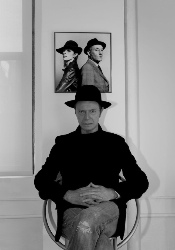David Bowie surveys his kingdom ©2013 Jimmy King