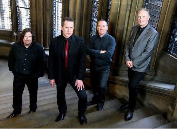 Malcolm Holmes, Andy McCluskey, MArtin Cooper, Paul Humphreys © 2013 Ed Fielding