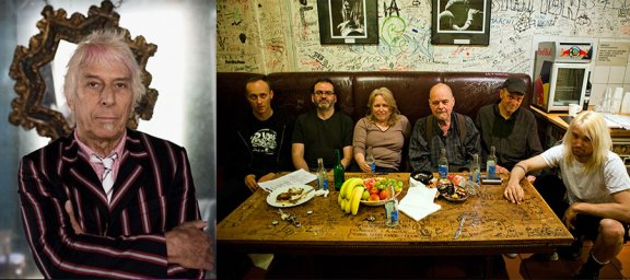 Mister Cale [left] and Pere Ubu [right] © 2013 Alexandre Horn [Ubu]