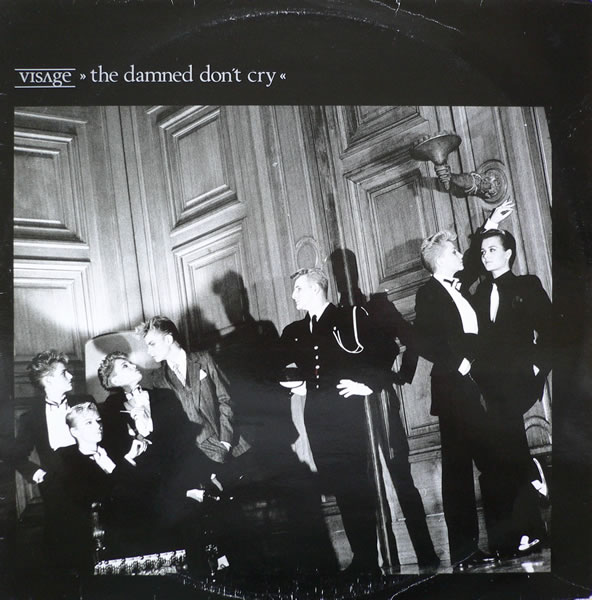"visage damned dont cry 12"" single cover"