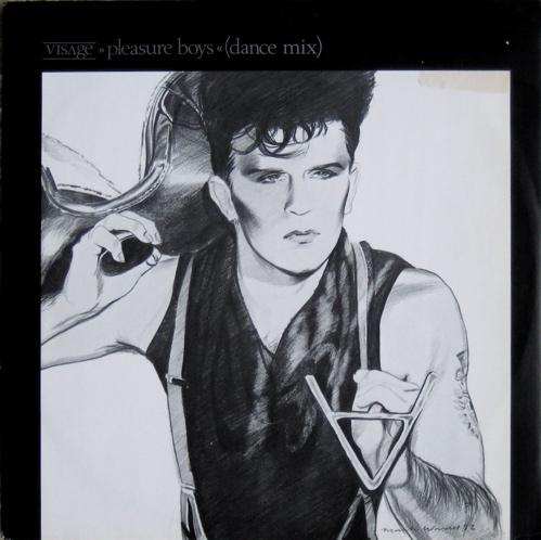 "visage - pleasure boys 12"" single cover"