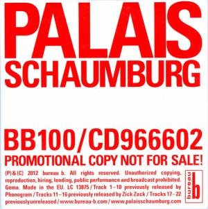 Bureau B | GER | PROMO CD | 2012| BB100
