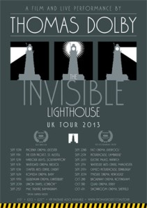 thomas dolby - invisiblelighthouseposter