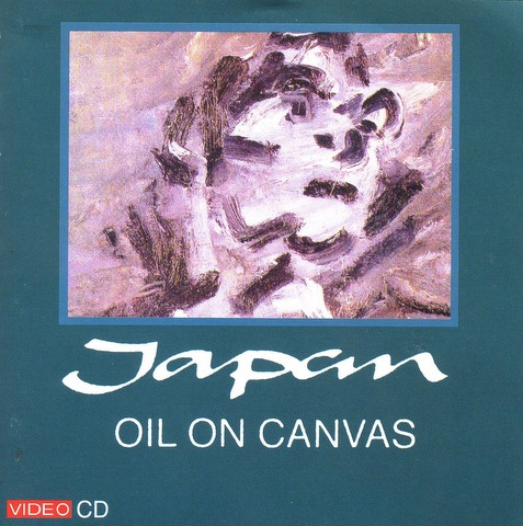 japan oil on canvas VCD cover art