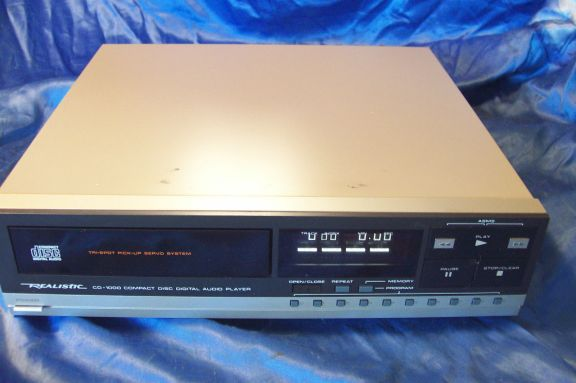 Radio Shack's Realistic CD-1000 CD player changed everything…