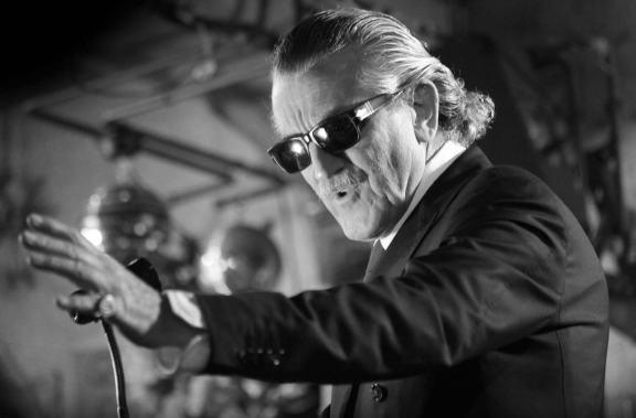 Dieter Meier likes the uncertainyl of live performance