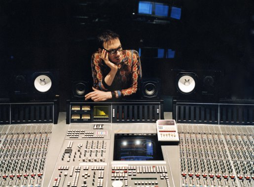William Orbit in his natural environment