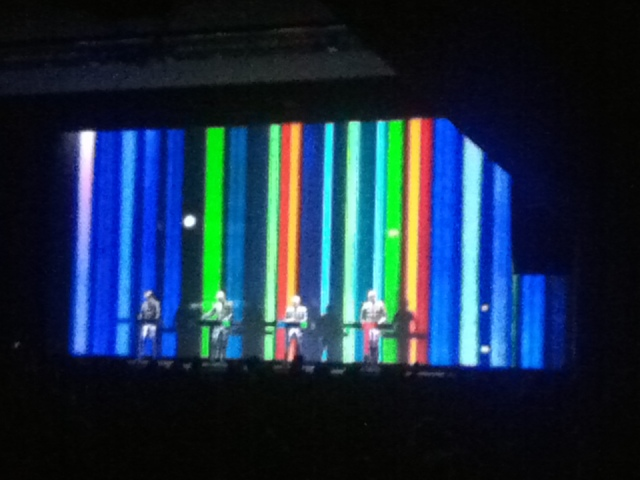 The second Kraftwerk show in one evening!