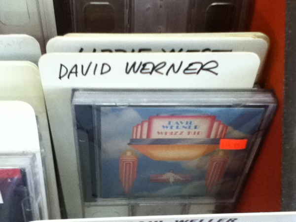 "Sure, it's a boot CD-R, but… David Werner's ""Whizz Kid"" fergoshsakes!"