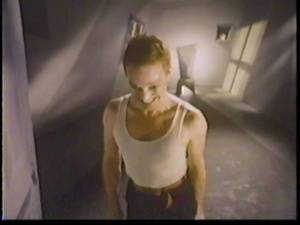 The New Wave German Expressionist set was a wonder… as were the grimaces Elfman made throughout the video