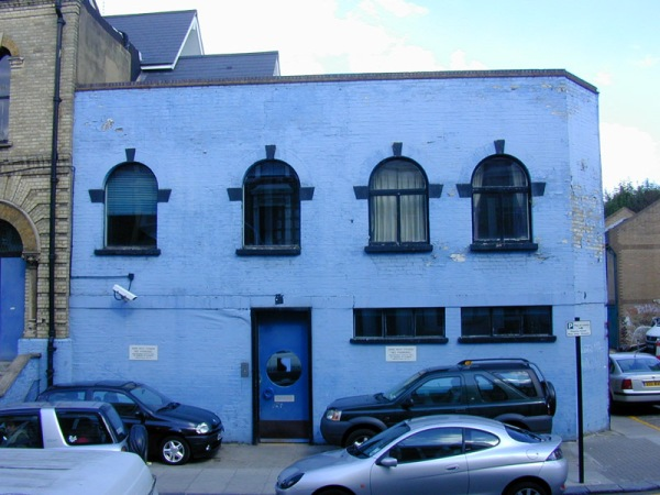 The distinctive ZTT-Blue offices of SARM West Studios will soon be no more