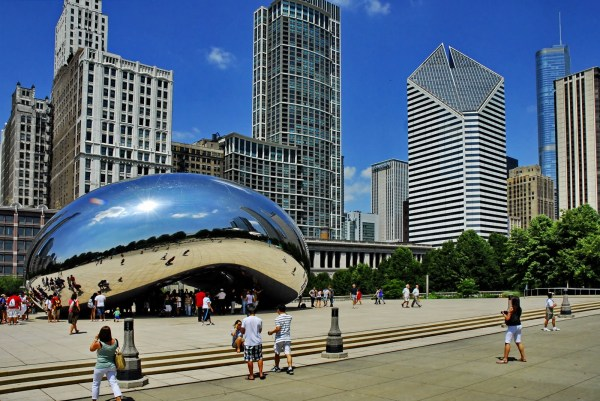 Anish Kapoor's 'Cloud Gate' a.k.a. 'The Bean' © Wayne Wendal
