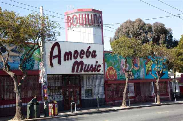 Amoeba Haight-Ashbury © Tony Northrup