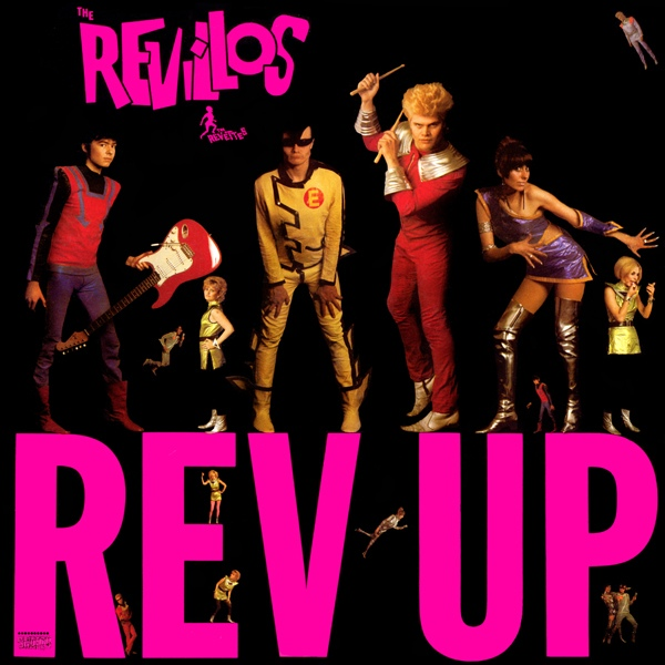 the revillos rev up CD cover