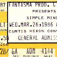 Rock G.P.A.: Simple Minds [part 25]