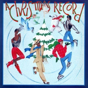 ZE christmas record cover art