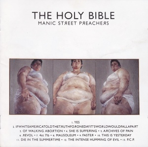 manic street preachers - holybibleUKCDA