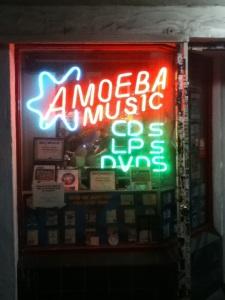 Amoeba BK neon sign