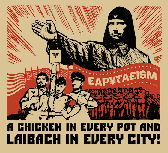 laibach tour poster