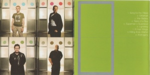 simple minds - neapolis booklet