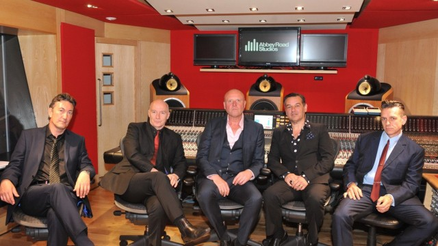 L-R: Neil Crossley, Midge Ure, Glenn Gregory, Stephen Emmer, Liam MacKahey