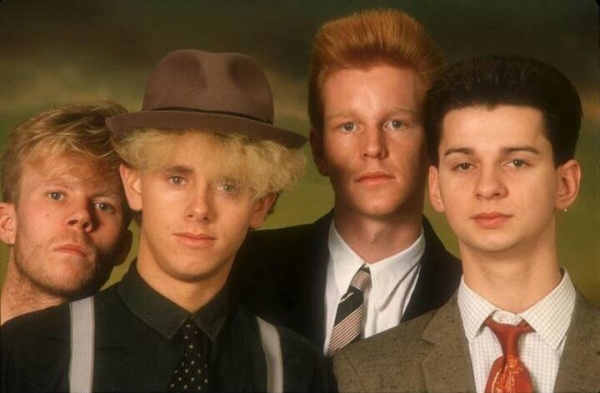 Fresh faced young lads from Basildon; and Vince Clarke
