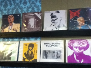 More Bowie boots than you could swing a dead cat at…