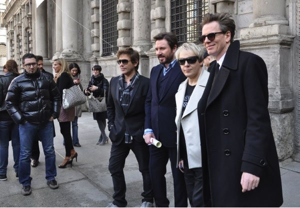 Duran Duran stepped out with confidence for their 2010 album