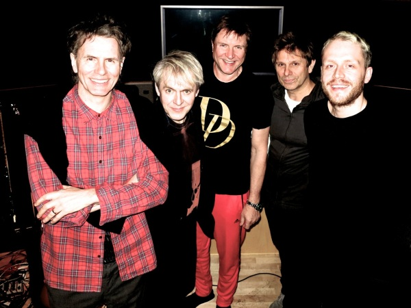 Duran Duran with the mysterious Mr. Hudson [R]