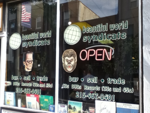 Beautiful World Syndicate In Philadelphia a mediocre store in person, but amazing online