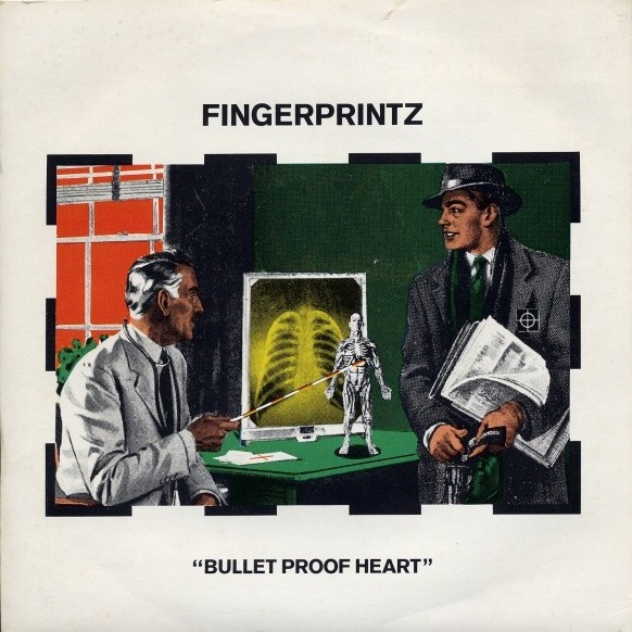 fingerprintz bulletproof heart cover art