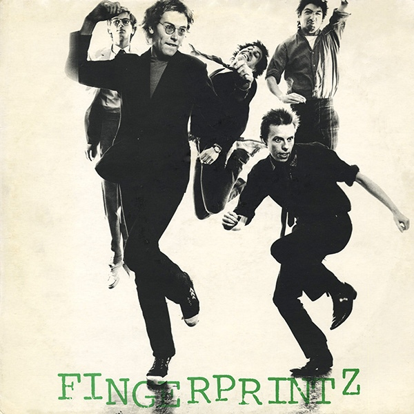 fingerprintz - dancing with myself cover art