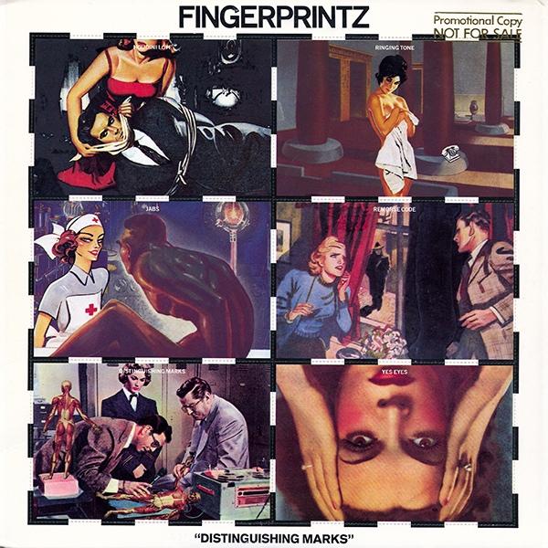 fingerprintz distinguishing marks cover art