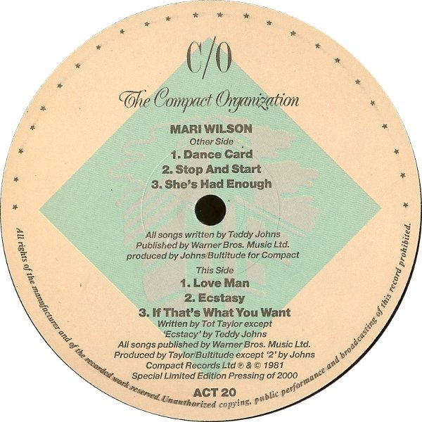 MAri Wilson - The Ready-To-Hear Collection EP