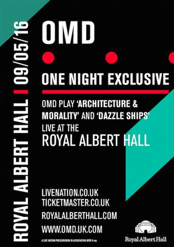 OMD - Live @RAH A+M+DS