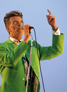 Lime Green Leisure Suit Bowie® ca. 1991