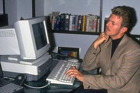 Bowie's PowerBook docking station ca. 1994