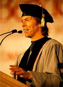 Bowie @ Berklee ©1999 Bob Kramer