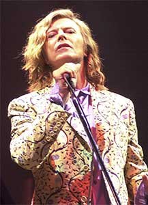 Bowie cemented his legacy in 2000 when he headlined the Glastonbury Festival