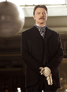 """David Bowie was most visible in the guise of Nikola Tesla in the 2006 film """"The Prestige"""""""