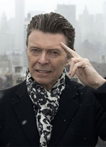 David Bowie salutes you ©2015 Jimmy King