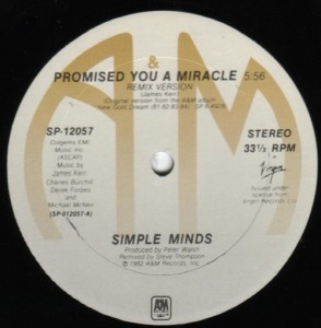 Simple Minds - PYAMUS12A